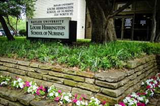 Baylor nursing sign