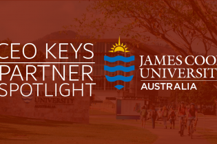 CEO Keys Partner Spotlight James Cook University logo