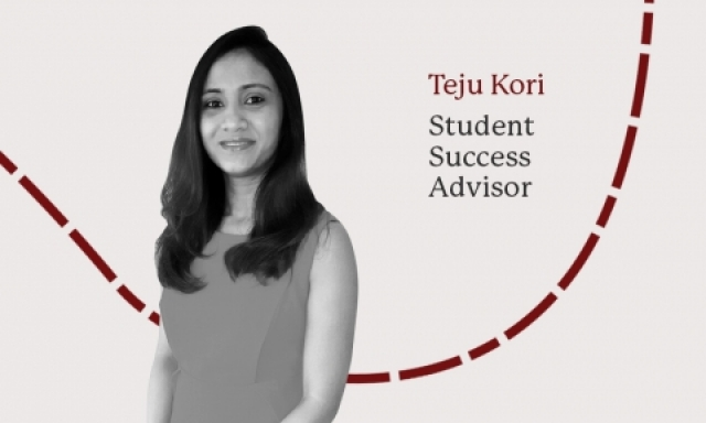 Teju Kori, Student Success Advisor